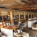 Raclettehütte Engstligenalp im Herbst