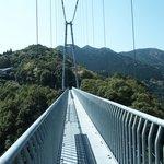 足がすくむ大吊橋