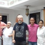 Lovely staff at Riad Ain