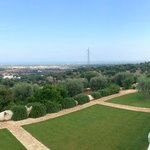 View from the top of the Masseria Rooms