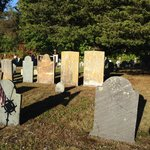 Old Burial Ground across the street.