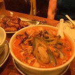 Spicey Cha Ma Seafood Noodle soup