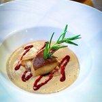 Porcini velouté & bruschetta foie gras