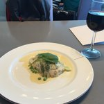 Fillet of cod in VA clubhouse in SF