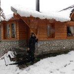 entrada de la cabaña 3