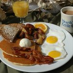 Breakfast served all day at the Hearth 'n Kettle Plymouth