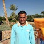 Ali, bottom pool attendant