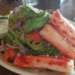 Wedge Salad with King Crab