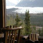 View of the magnificent Matanuska Glacier