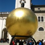 Ball, Kapitelplatz and Kapitelschwemme, Salzburg, Austria