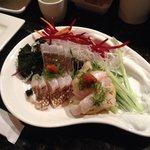 Sashimi was amazing.