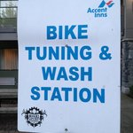 Bike tuning and wash station