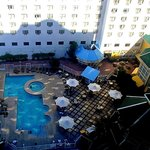 14th floor view of Pool area.