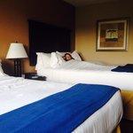 Comfy beds!!