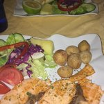 Lovely grilled salmon