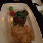 the BEST tuna tartare ever!