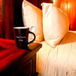 Enjoy a great cup of Dude Rancher Coffee in your Room!