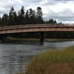 Just one of the many beautiful sites on the 18 mile bike path at Sunriver, Oregon