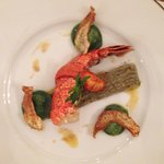 Lobster tail appetizer
