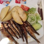 Sardines for lunch ...