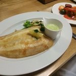 dover sole with tomato salad