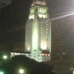LA City Hall just outside hotel