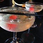 a Glitterball - the signature cocktail