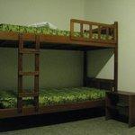 Bunk beds in room 13