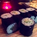 Yummy Avocado Sushi