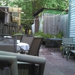The Mad Platter's Courtyard Dining