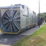 A Union Pacific Rotary Plow... WOW