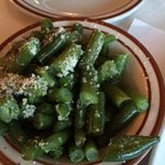 Green Beans with Parmesan Cheese - yummy