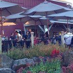Special days have music on the patio