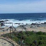 Vista al mar desde la casa de Pablo Neruda