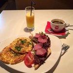завтрак за 160 руб