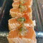 seared salmon tataki