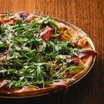 Delicious 'La Chaplin' pizza