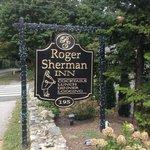 Roger Sherman Inn Road Sign