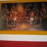 A Mayan ritural painting