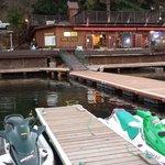 a dock parking lot is always nice