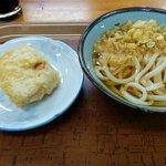 ひやかけと高野豆腐天