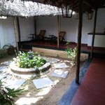 room courtyard