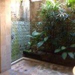 outside bathroom