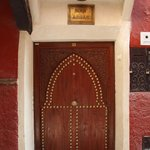 The door to the Riad