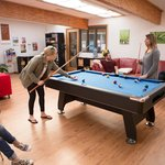 Vivonne Bay Lodge games room