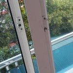 Bedroom Window - 1 of many broken locks