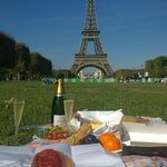Champ de Mars - Paris picnic 27/09/14