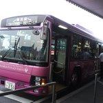 舞浜駅からこのバスに乗ります