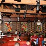 L'intrieur du fameux Houston's Restaurant à Pompano Beach, Floride.