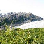 View on glacier